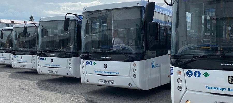Башавтотранс получил от КАМАЗа 50 автобусов, работающих на газомоторном топливе