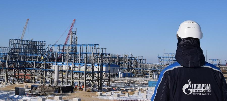 Прогресс проекта строительства Амурского ГПЗ по итогам марта 2020 г. составил 59%