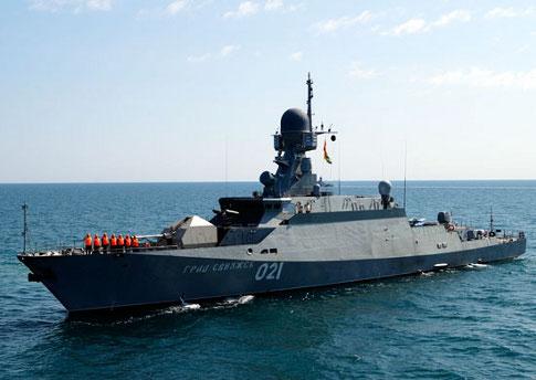 Каспийская флотилия пополняется новыми боевыми единицами. На всякий случай
