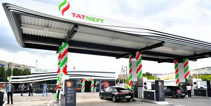Татнефть открыла новую АЗС в флагманском формате в г. Альметьевск