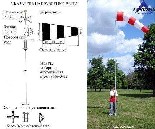 Куда ветер дует… или как подобрать ветроуказатель?