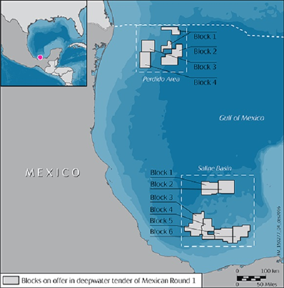 Statoil awarded licences in Mexico's Deepwater round