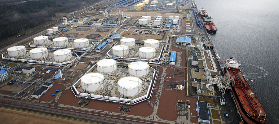 Минэнерго РФ: содержание хлорорганики в нефти Усть-Луги составляет 3,4 ppm