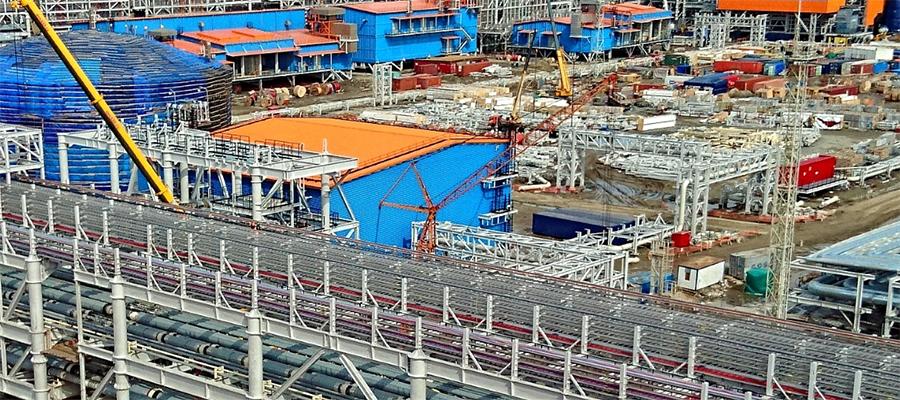 Обский СПГ обретает очертания - мощность 4,8 млн т/год, запуск в конце 2022 г.