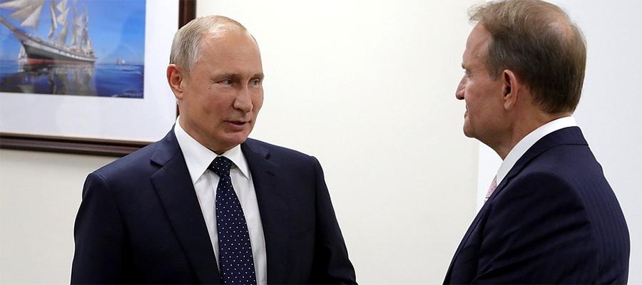 Persona grata. Встретившись с В. Медведчуком на полях ВЭФ-2019, В. Путин дал важный сигнал властям Украины
