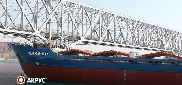 Доковый ремонт т/х «АСКАР-САРЫДЖА» с применением морских покрытий АКРУС®