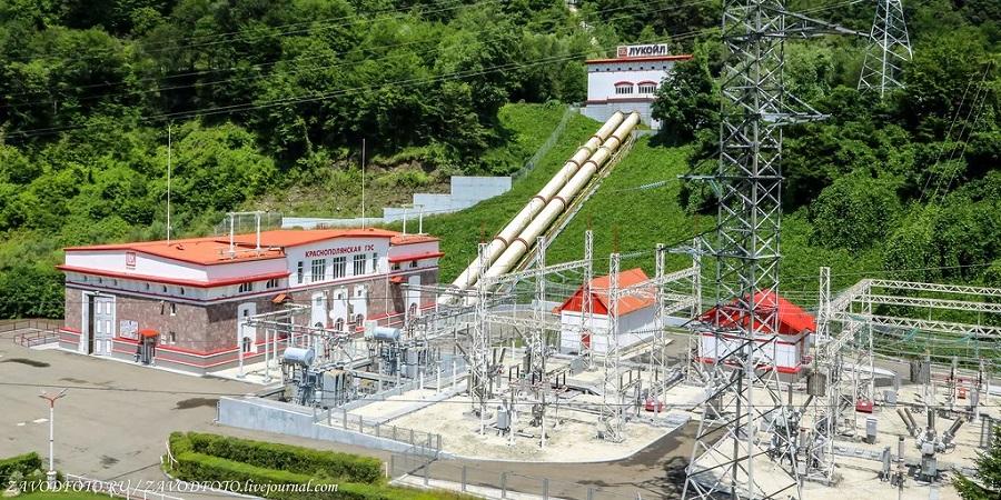 ЛУКОЙЛ завершил реконструкцию гидротехнических сооружений Краснополянской ГЭС