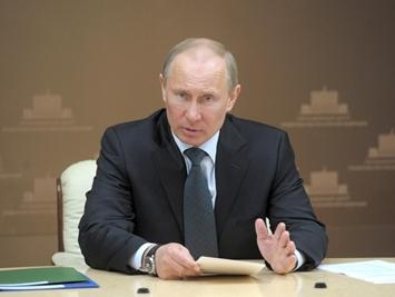 В. Путин негодует, требуя очистить газовый рынок от «мутных схем»