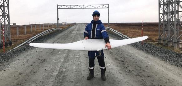 Мессояха испытала летающие беспилотники