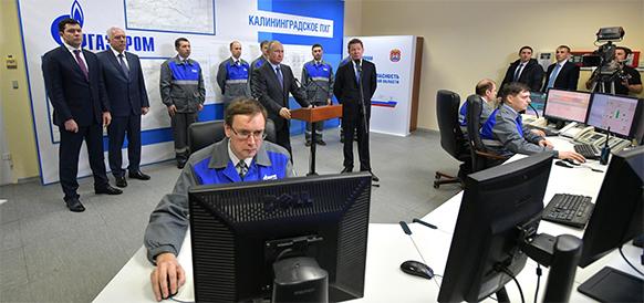 Сводя на нет транзитные риски, В. Путин ввел в эксплуатацию СПГ-терминал в Калининградской области