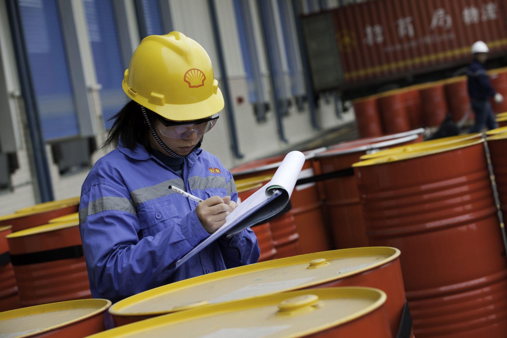 Концерн Shell построит завод в Китае