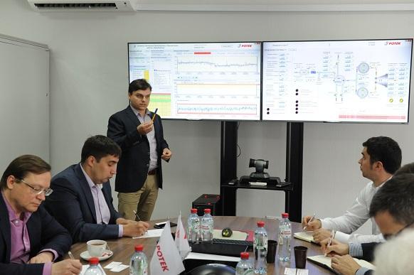 Центр удаленного мониторинга АО «РОТЕК» посетили представители Министерства энергетики, РОСНАНО и ПАО «Ростелеком»