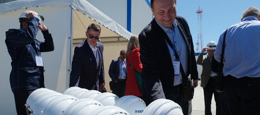 Делегация представителей хорватской нефтетранспортной компании JANAF посетила объекты Черномортранснефть