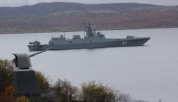 Шансов поднять флаг на фрегате Адмирал Горшков в 2017 г не осталось. Сдачу фрегата-долгостроя ВМФ РФ вновь перенесли