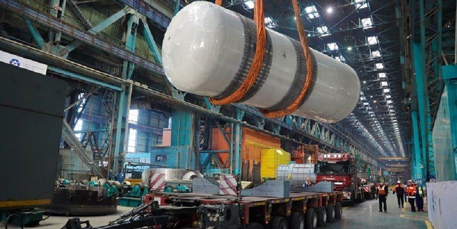 Атоммаш отгрузил внутрикорпусные устройства для энергоблока № 1 АЭС Руппур