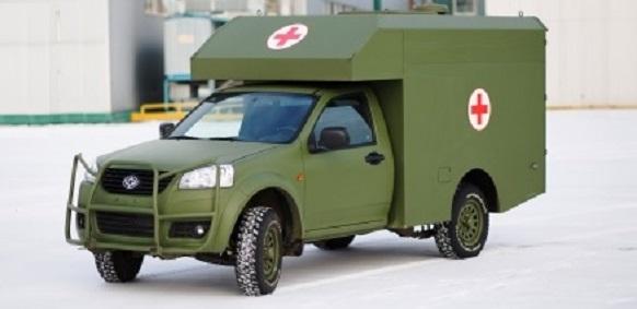 Украинские военные санитарные автомобили Богдан-2251 жалуются на плохое топливо Голосовать!