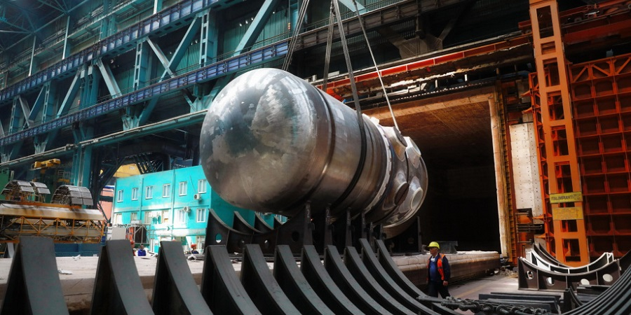 Rosatom: RPV welded for unit 1 of Bangladesh nuclear power plant