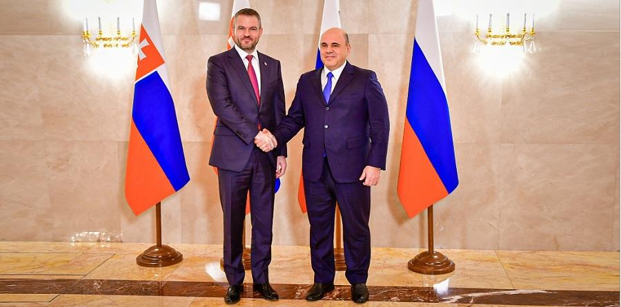 Словацкий премьер П. Пеллегрини тепло поговорил с М. Мишустиным о газе, ГТС и ядерном топливе