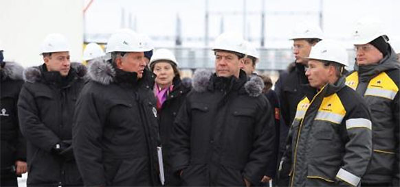 Rosneft commissioned new oil & gas production cluster in Western Siberia
