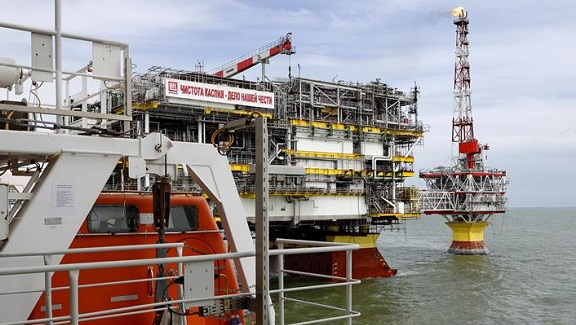 Lukoil starts drilling of the 1st production well at the phase 2 of Filanovsky field