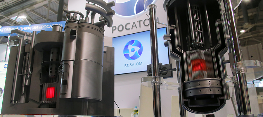 1st in the world. Russia's watchdog Rostechnadzor issued the license to build BREST-OD-300 reactor