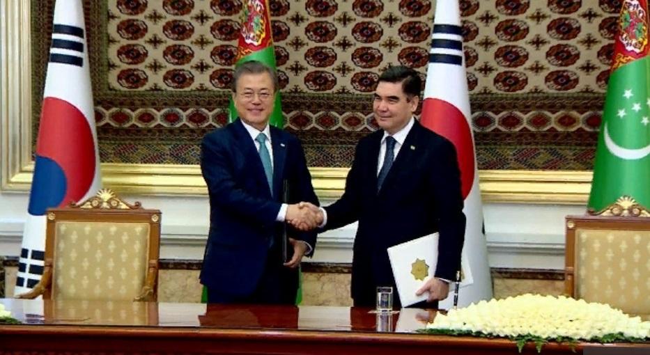 NaPeCo, Газохимия и кадры. Президенты Туркменистана и Кореи договорились о развитие сотрудничества в ТЭК