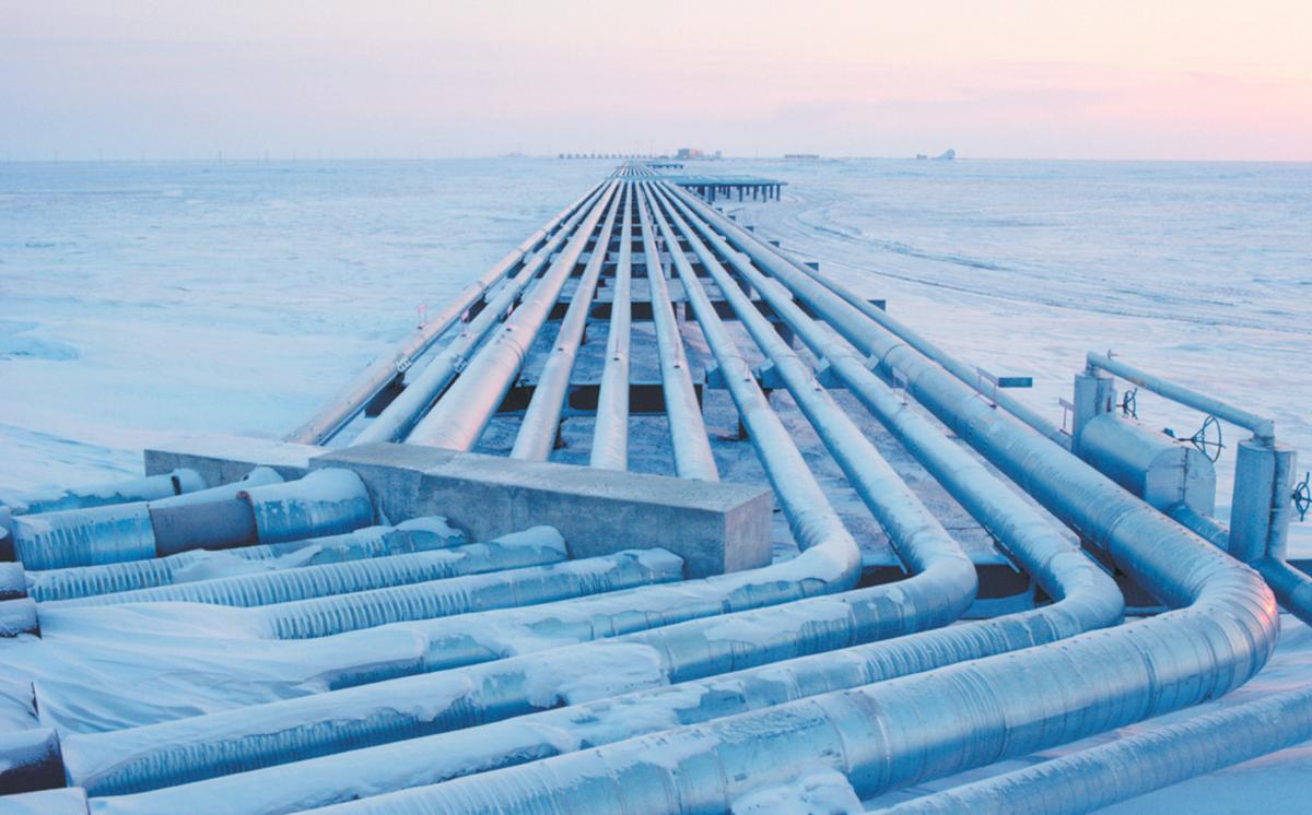 Маршруты арктических углеводородов