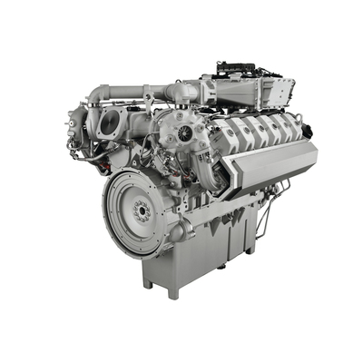 First appearance of MAN gas-fueled reciprocating engine E3262 LE202 in Russia