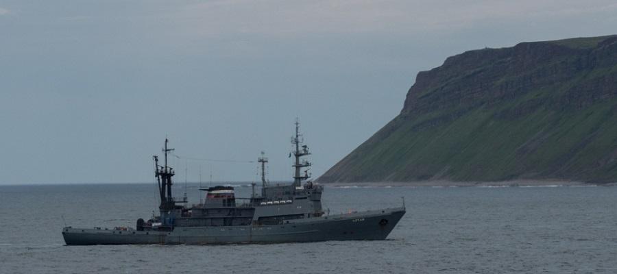 Экспедиция Северного флота РФ проводит исследования у архипелага Новая Земля