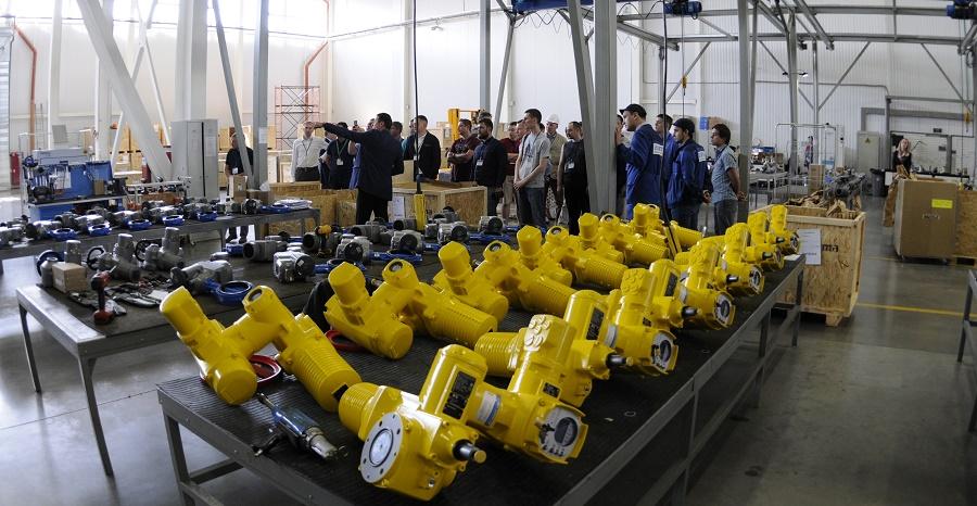 28 мая компания ПРИВОДЫ АУМА провела конференцию для предприятий водной отрасли промышленности в своем здании в г. Химки