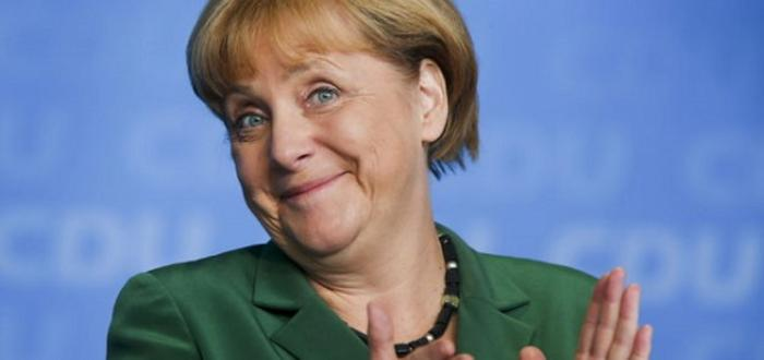 Angela Merkel and Kjell Børge Freiberg opened Arkona offshore wind farm