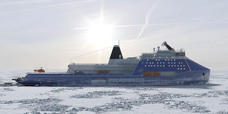 Имя ему «Россия». На ССК Звезда началось строительство самого мощного в мире атомного ледокола проекта 10510 «Лидер»