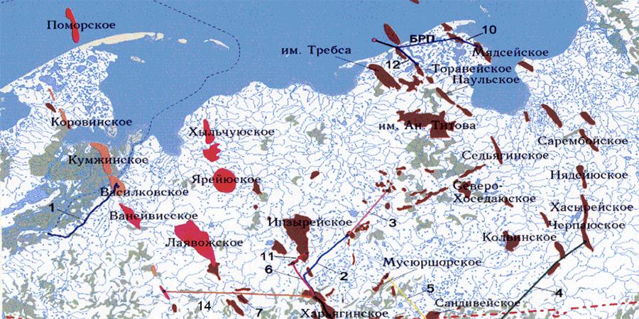 Газпром и ЛУКОЙЛ подписали основное соглашение об условиях освоения Ванейвисского и Лаявожского участков недр