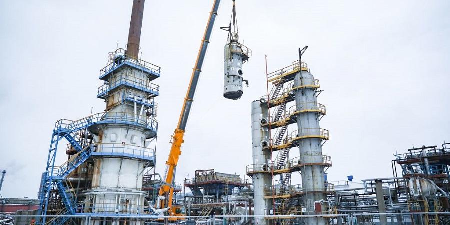 На Московском НПЗ Газпром нефти начался демонтаж установок прошлого поколения