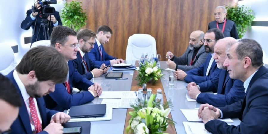 Iran and Russia called for deepening energy cooperation