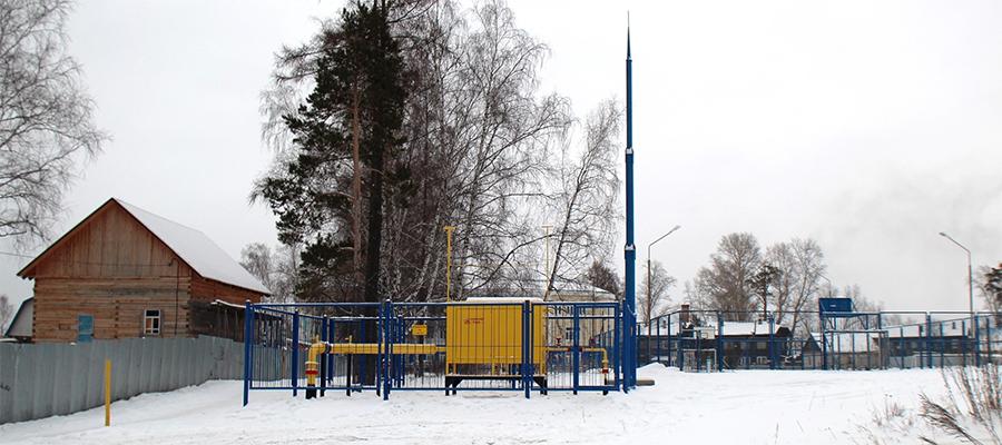 В с. Дзержинское Томской области в эксплуатацию запущены газораспределительные сети