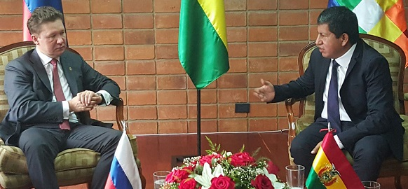 Gazprom and Bolivia advancing cooperation to new levels