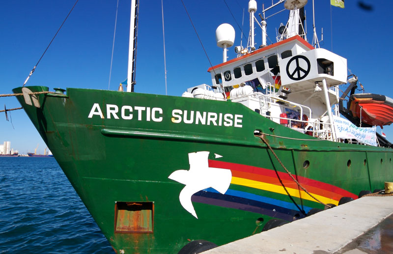 Russia ordered to pay € 5.4 mln in 2013 Greenpeace arrest case
