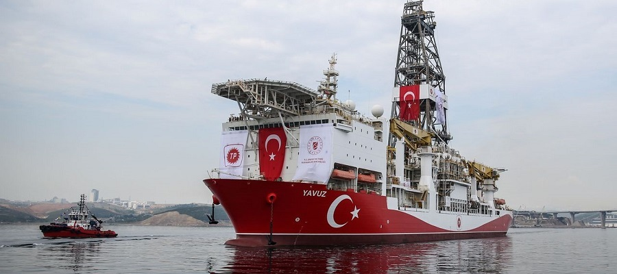EU sanctions Turkey for drilling offshore Cyprus