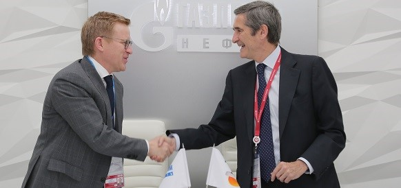 Газпром нефть - Repsol. На ПМЭФ-2018 г подписано соглашение о техническом взаимодействии