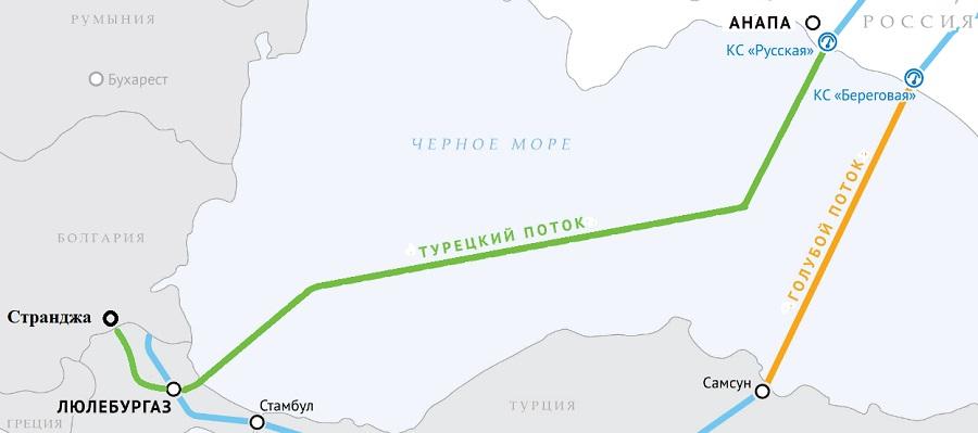 В. Малинов & Б. Борисов из Болгарии. Газ из газопровода Турецкий поток пришел в Грецию и Македонию. Балканский поток строится.