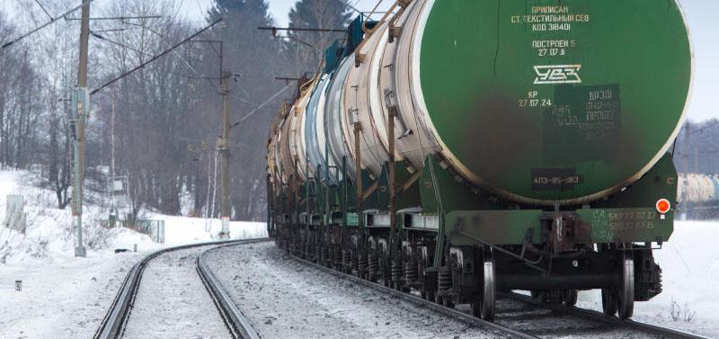 В 2018 г. РЖД погрузила 236,4 млн т нефти и нефтепродуктов