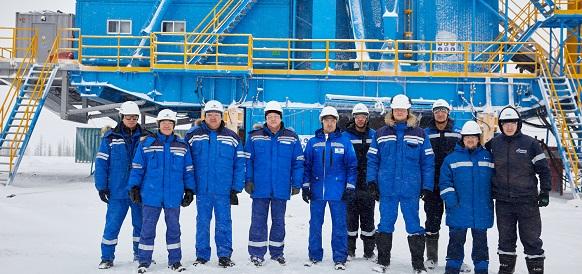 Продолжаются работы по подготовке 1-го пускового комплекса туронской газовой залежи к вводу в промышленную эксплуатацию