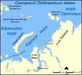 Роснефть создаёт службу спасения на берегу Карского моря. База Амдерма