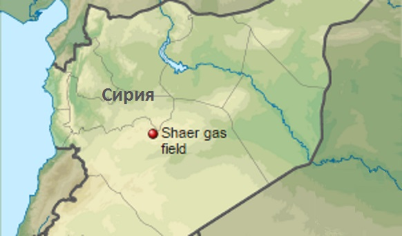 Вооруженные силы Сирии освободили газовое месторождение Шаер под г Пальмирой