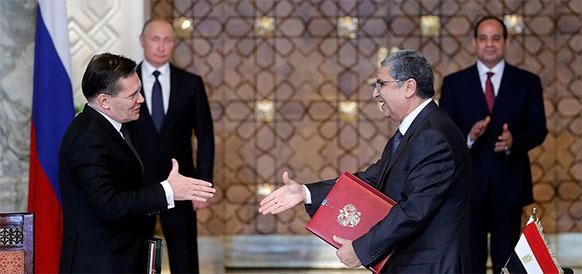 Самый дорогой контракт в мировой атомной индустрии. Россия и Египет подписали контракты на строительство АЭС Эль Дабаа