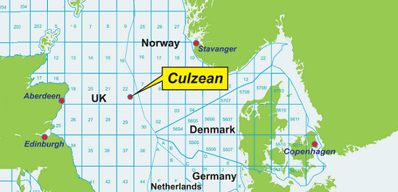 Total-operated Culzean development in the North Sea reached an important breakthrough