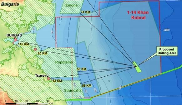 Shell готовится с новым партнером к разведочному бурению на блоке Хан Кубрат в болгарском секторе Черного моря