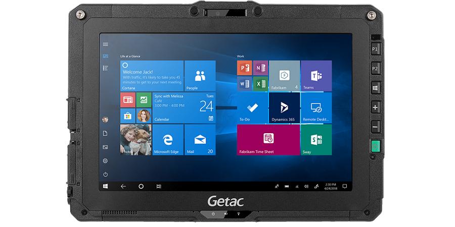 Планшет Getac UX10 обеспечит высокую надежность и мобильность для специалистов в любых условиях