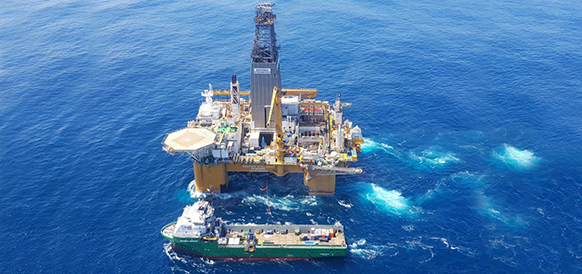 Total makes discovery and opens a new petroleum province offshore South Africa